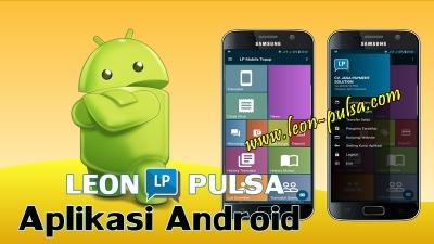 aplikasi android leon pulsa