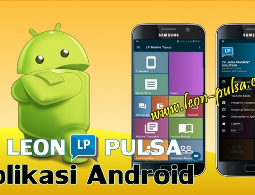Aplikasi Android Leon Pulsa Murah