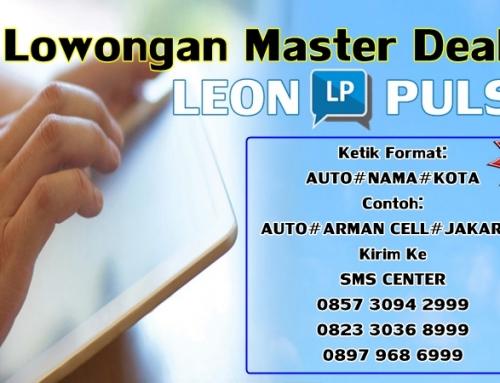 Lowongan Jadi Master Dealer Leon Pulsa
