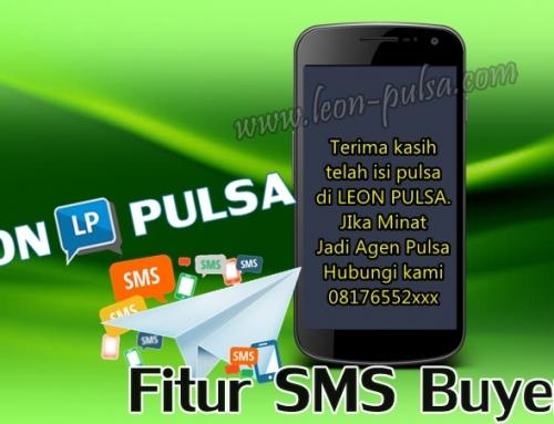Fitur SMS Buyer Leon Pulsa